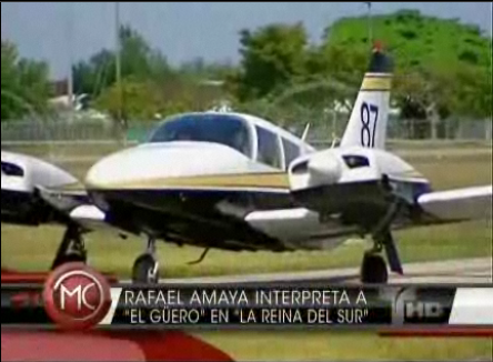 N887SP on Telemundo