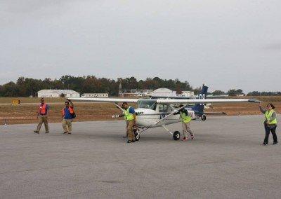 MDC Flight Team on the Ramp