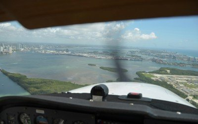 Flying Over Florida