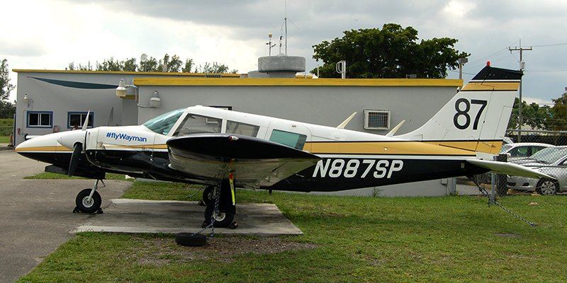 Piper Seneca N887SP #flyWayman